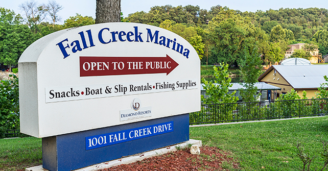 Fall Creek Marina